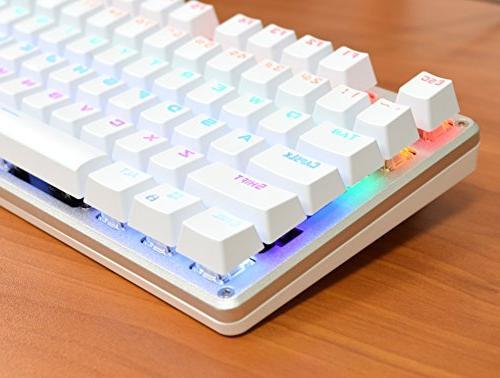 AULA Keyboard LED Illuminated Computer