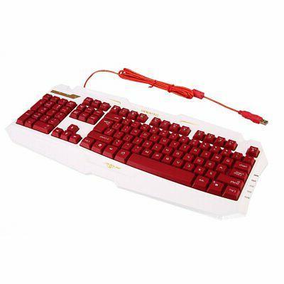 new computer desktop gaming keyboard mechanical feel