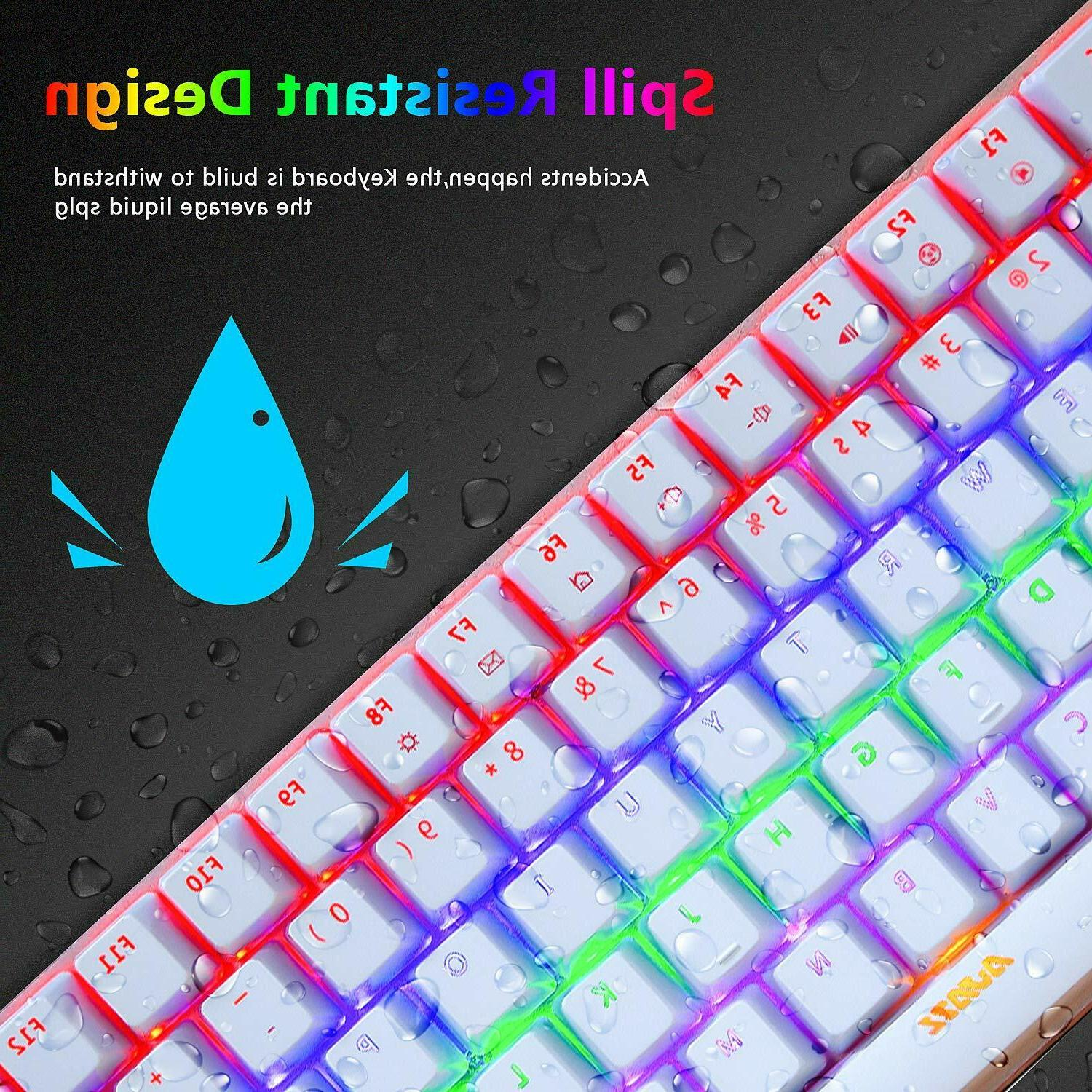 AK33 USB Cable Keyboard Gamers