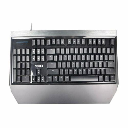 Pro Game Office Mechanical Keyboard LED Backlight US