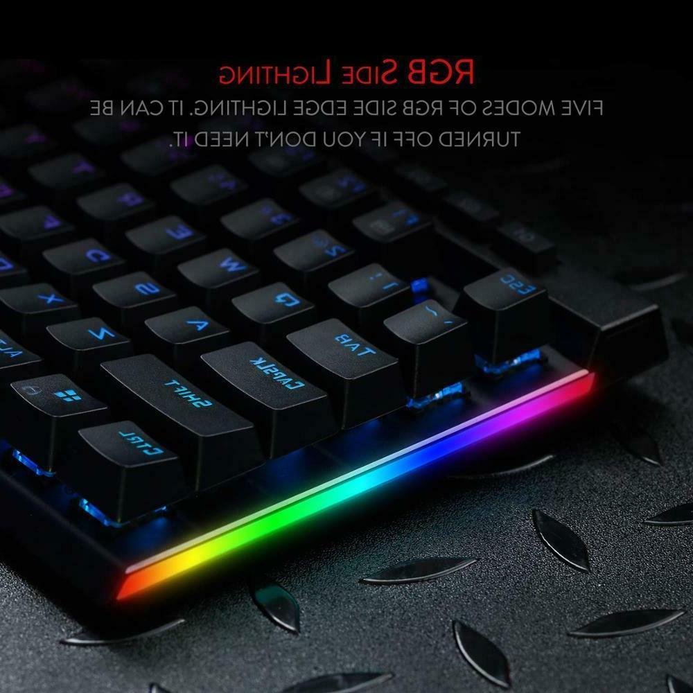 VATA Mechanical Gaming RGB LED Keys