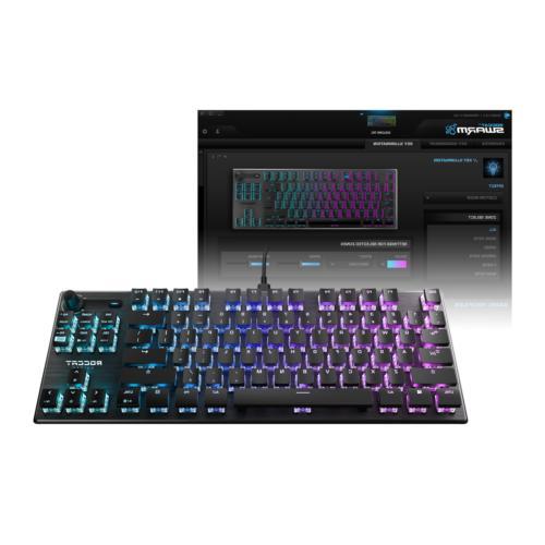 ROCCAT Vulcan RGB PC Keyboard, Mechanical Switch Linear,