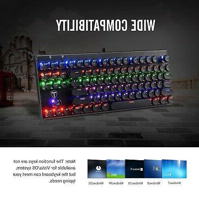 Latest Tomoko Mechanical Water Resistant Gaming Keyboard Wit