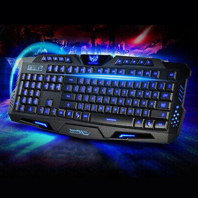 wired game computers accessories backlight keyboard 3