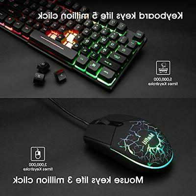 Mouse Combo Laptop Backlit Feel