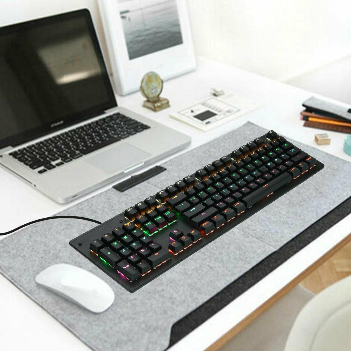 Wired Keyboard Mouse Touch Pad Ultra Design Universal For