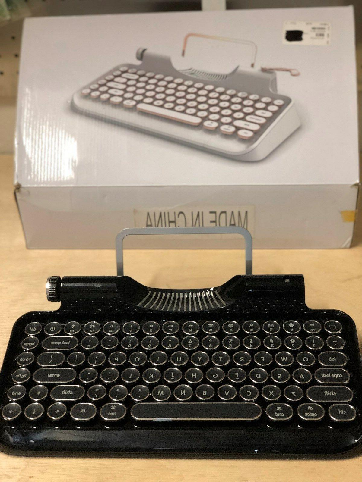 Vintage Keyboard Typewriter Wireless Retro