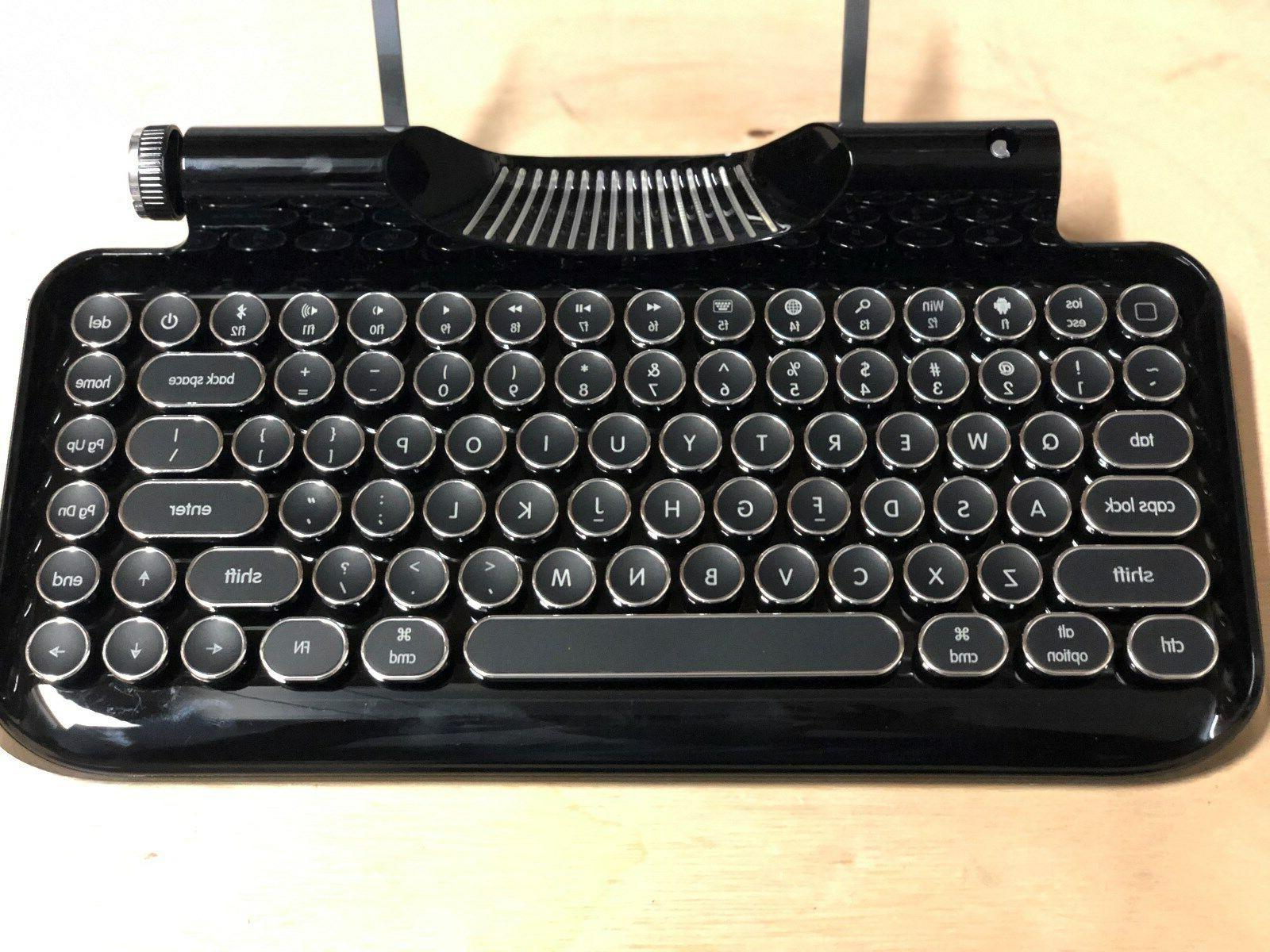 Vintage Mechanical Integrated Tablet Retro