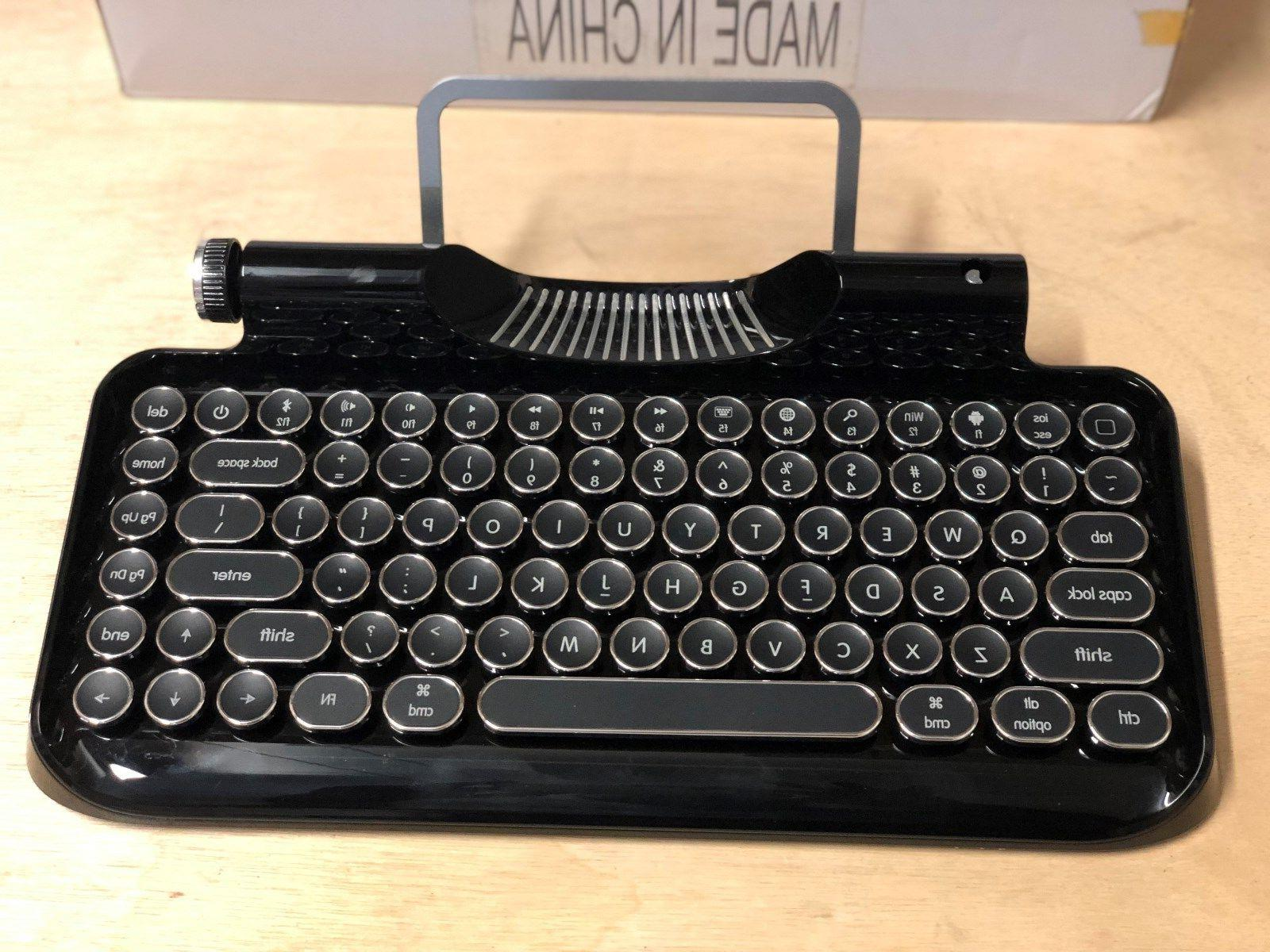 Vintage Keyboard Typewriter Mechanical Integrated Tablet Retro