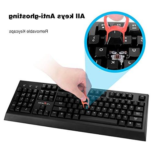 VELOCIFIRE Mechanical Keyboard, Outemu Copywriters, Programmers