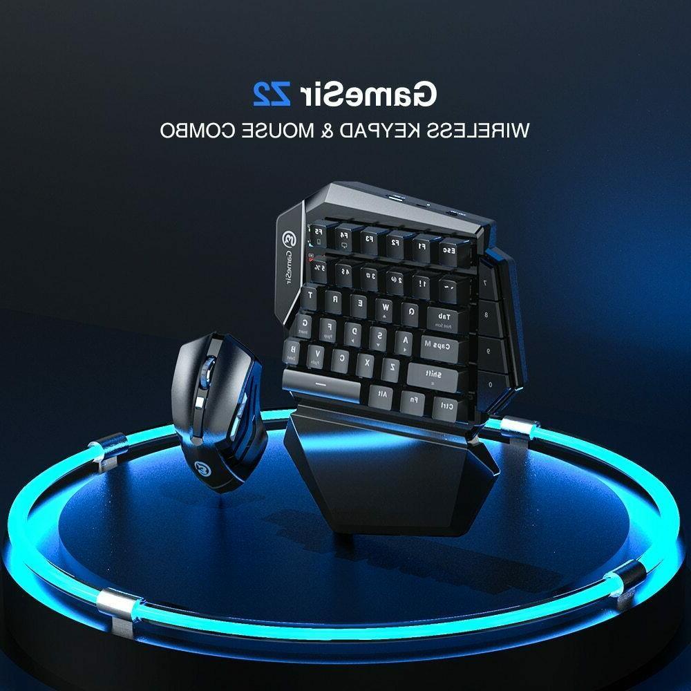 Gamesir PC Gaming Combo Keypad Keyboard and Mouse Bundle