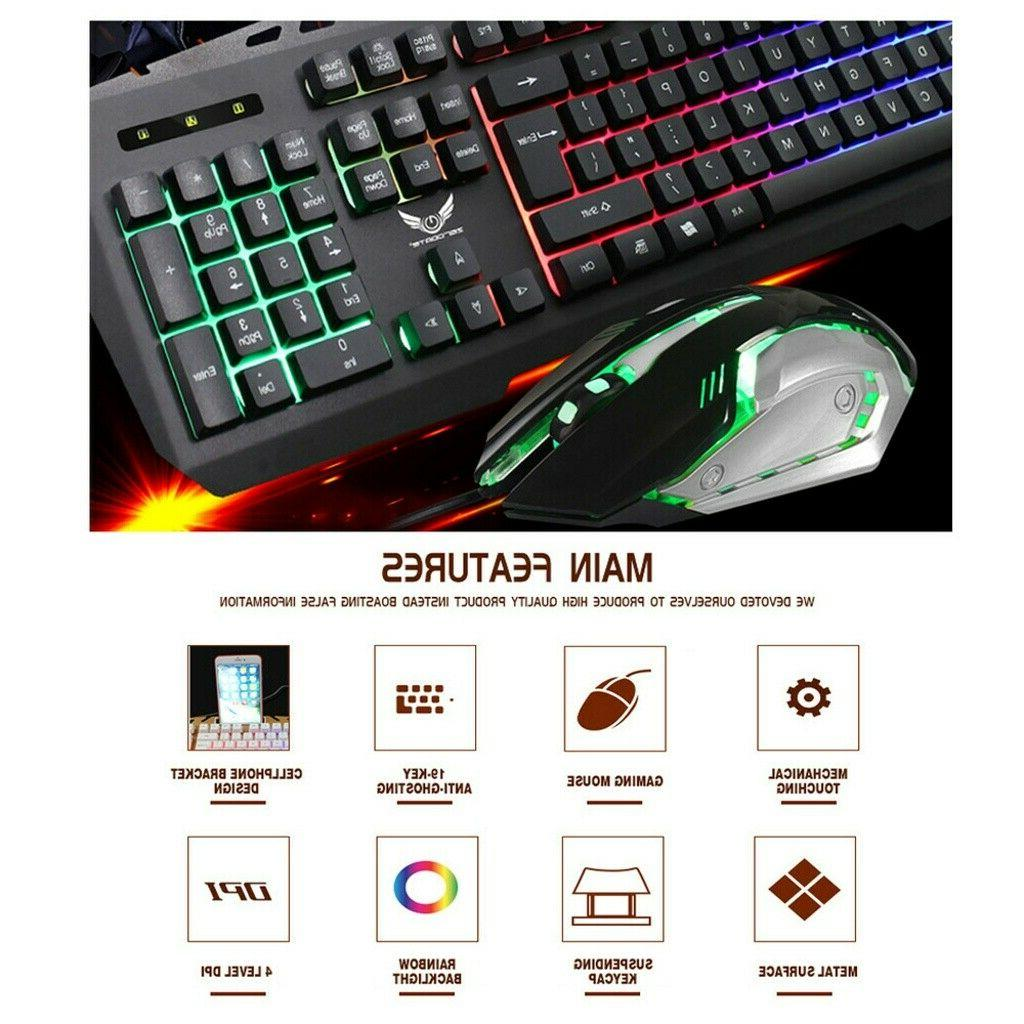 X310 Mouse Breathing LED