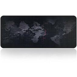 Large Gaming Mouse Map Pad XXL Size Desk Keyboard Thick Mat