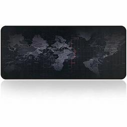 Large Gaming Mouse Pad Map With Nonslip Base For Desktop Lap