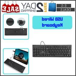 Eses Led Keyboard Mechanical Feeling USB Wired PC MAC Window