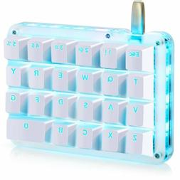 macro mechanical gaming keyboard 23 programmable keys