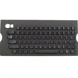 Max Keyboard Universal Cherry MX Translucent Clear Black Ful
