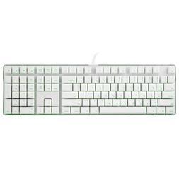 Qisan Mechanical Gaming Keyboard Crystal Case GATERON Brown