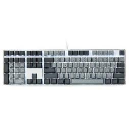 Qisan Mechanical Gaming Keyboard GATERON Blue Switch Crystal