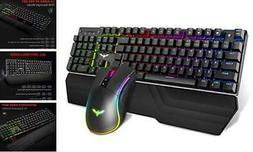Havit Mechanical Keyboard and Mouse Combo RGB Gaming 104 Key