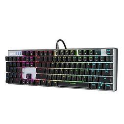 AUKEY Mechanical Keyboard Blue Switch, 104-Key RGB Backlit G