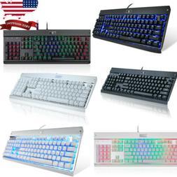 Eagletec Mechanical Keyboard Blue Switch 104 Lighted Keys fo