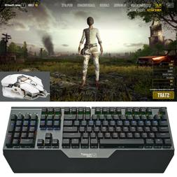 Mechanical Keyboard Gameing Mouse USB Wired LED Breathing Li
