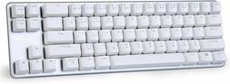 Mechanical Keyboard Gaming Brown Switch 68-Keys Mini Design