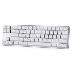 Qisan Mechanical Keyboard Gaming Keyboard Black Switch 68-Ke