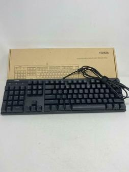 AUKEY Mechanical Keyboard LED Backlit Gaming Keyboard with B