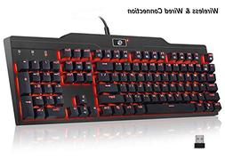 Mechanical Keyboard, UtechSmart Mercury LED Backlit Full Siz