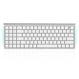 Mechanical Keyboard, Alloet USB Wired Bluetooth Dual Mode Me