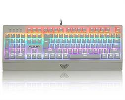 AULA Mechanical Keyboard Wings of Liberty 104keys Multicolor