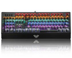 AULA Mechanical Keyboard Wings of Liberty 104keys Multicolor