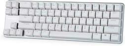 Mechanical Keyboard Wired Keyboard Blue Switch 68-Keys Mini
