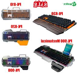 7PIN Membrane / Mechanical Gaming Keyboard Backlight 104 Key