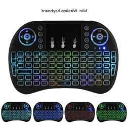 Mini i8 Mechanical Backlight Wireless Keyboard 2.4GHz Game K