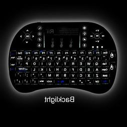Rii Mini i8+ Wireless Keyboard With BACKLIGHT for Smart TV P