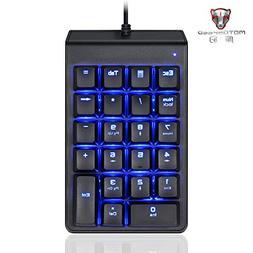 Harpi Mini 22 Keys Num Keypad Ice Blue Backlight Mechanical
