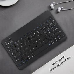 Mini Wireless Mechanical Keyboard USB & BT 3.0 6.7mm 180MAH