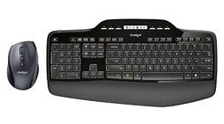 Logitech MK710 Wireless Desktop Mouse and Keyboard Combo  (C