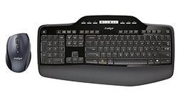 Logitech MK710 Wireless Desktop Mouse and Keyboard Combo  (C