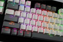 MP 108/87 keys Translucidus Backlight PBT Keycap For <font><