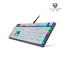 Harpi Multiple Color Rainbow RGB Backlit USB Wired Professio