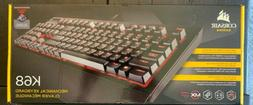 new gaming k68 mechanical keyboard backlit red
