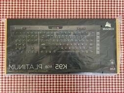 NEW! Corsair K95 RGB PLATINUM Mechanical Gaming Keyboard, Ch