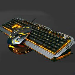 New Mechanical Keyboard USB Cable Ergonomic Mechanical Gamin