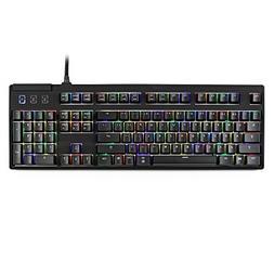 Max Keyboard Nighthawk Pro X Programmable Mechanical Keyboar