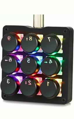 Koolertron OEM Gateron Red Switch Keypad 48 Program Key USB