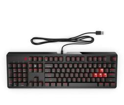 HP OMEN Gaming Keyboard 1100 Wired USB Black/Red - BRAND NEW